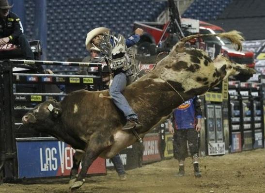 O Campeão Mundial Renato Nunes foi um dos três finalistas do Last Cowboy Standing em 2012