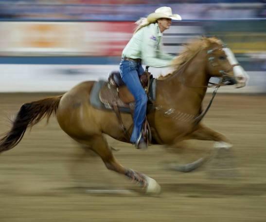 Sherry Cervi, líder do Ranking 2013 e recordista de premiação na história da WPRA (Foto: Assessoria Reno Rodeo)